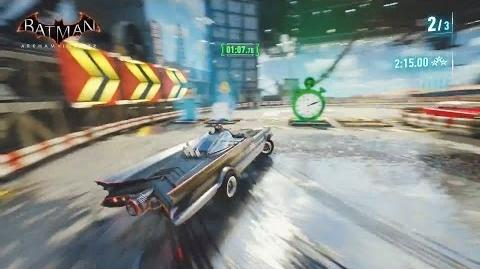 Batman Arkham Insider 9 - Batmobile clásico de 1960s y nuevos desafios