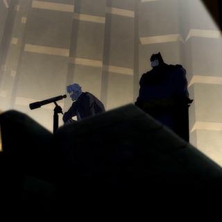 Batman pide la ayuda de Gordon