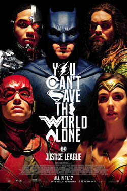 Justice League - Theatrical Poster