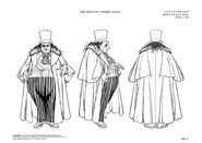 Penguin model sheet