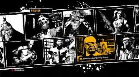 Batman Arkham Asylum - Alle Figuren, Charakter-Biografien und Patientengespräche