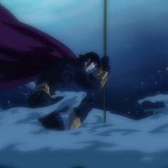Ocean Master inicia su ataque.