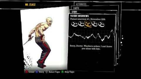 Batman Arkham Asylum - Patient Interview Tapes - Victor Zsasz