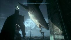 Batman- Arkham Knight; Tiny's corpse