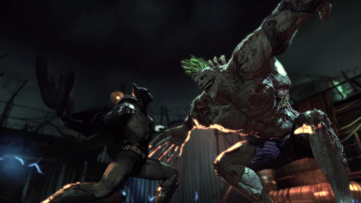 Batman Arkham Asylum Titan Batman