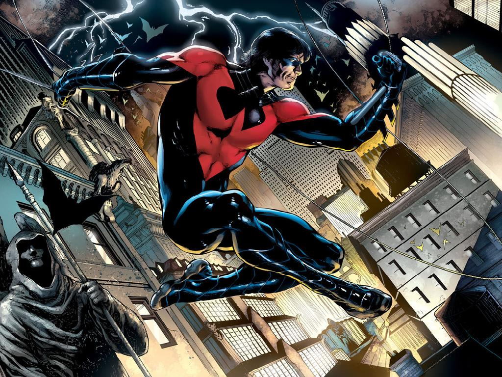 Dick Grayson | Batman Wiki | FANDOM powered by Wikia Red Son Justice League