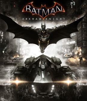 BatmanArkhamKnightspiel Cover