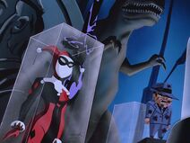 Batman Beyond - S01 E03 - Black Out - Fight with Inque 2 Trophie displays