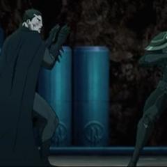Bruce contra Talon.