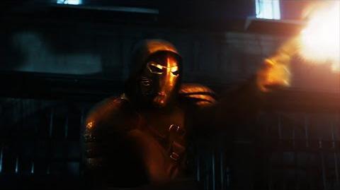 "Adelanto ""Wrath of the Villains Azrael"""