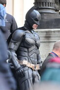 Batman close up TDKR II