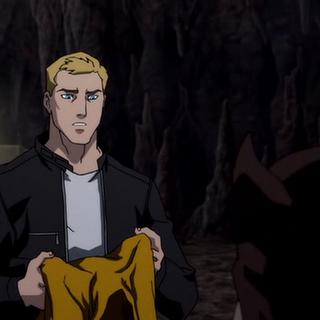 Barry con el traje de Zoom