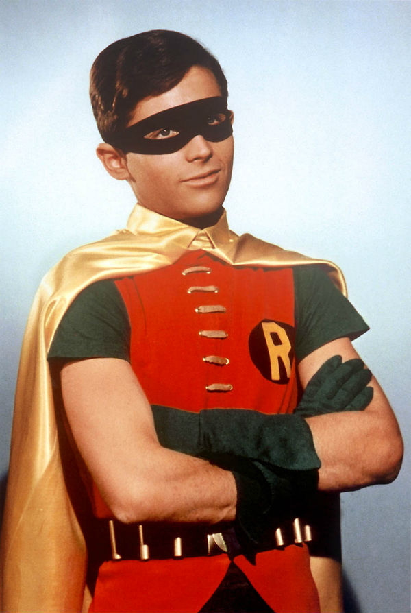 Dick grayson robin in the 1960s tv series batman