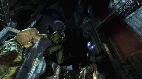 Batman Arkham Asylum Combat Trailer