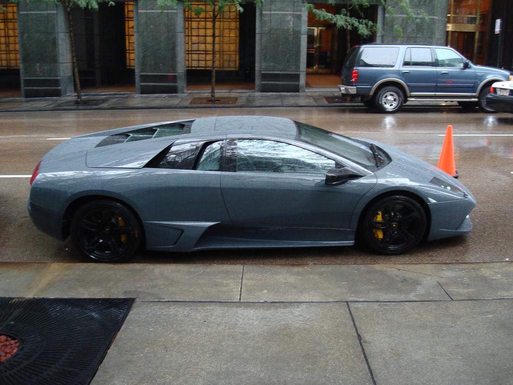 Bruce Wayneu0027s Lamborghini