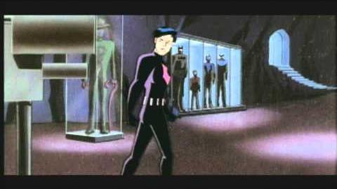 Batman Beyond upfront presentation for Kids' WB!