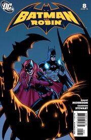 Batman and Robin-8 Cover-2