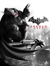 Arkham City key art