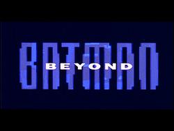 Batman Beyond title card