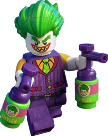 Joker lego batman movie