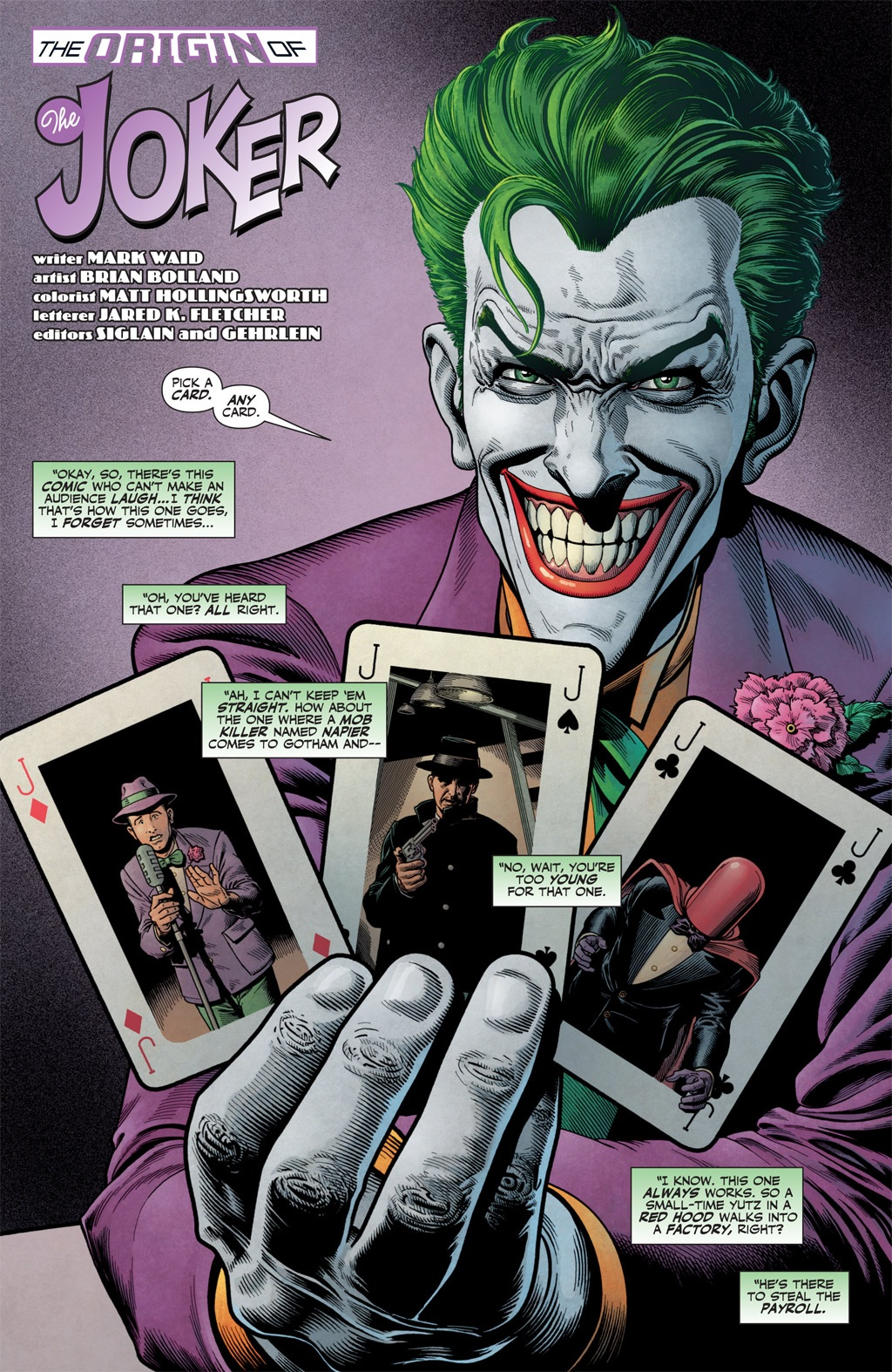 Image result for first appearance of the joker