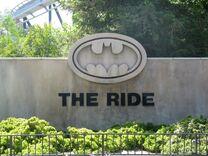 Batman The Ride Entrance