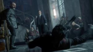 Gotham - Gordon empuja al Pingüino