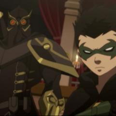 Robin es presentado ante la Corte.