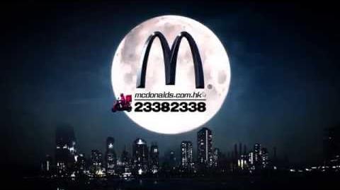 麥當勞® 黑夜孖牛蛋漢堡 電視廣告