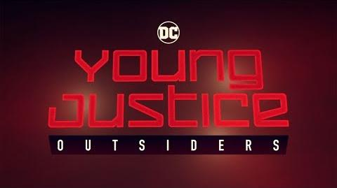 YOUNG JUSTICE OUTSIDERS - Trailer Comic-Con