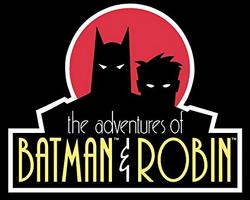 Adventures of Batman & Robin box logo