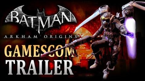 Batman Arkham Origins - Firefly Trailer Gamescom 2013-0
