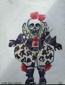 Biker Hell Clown