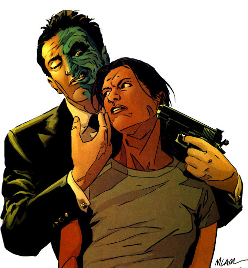 Image result for two-face hostage
