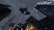 BatmanArkhamCitySkyDiving