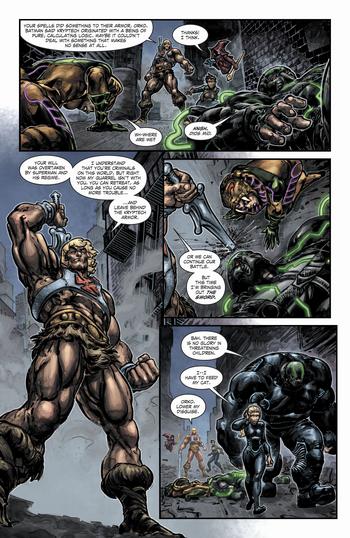 Injustice vs. Masters Of The Universe Vol.1 2 imagen