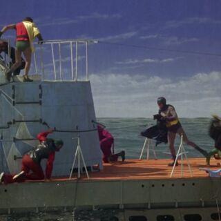 La lucha en la cubierta se intensifica
