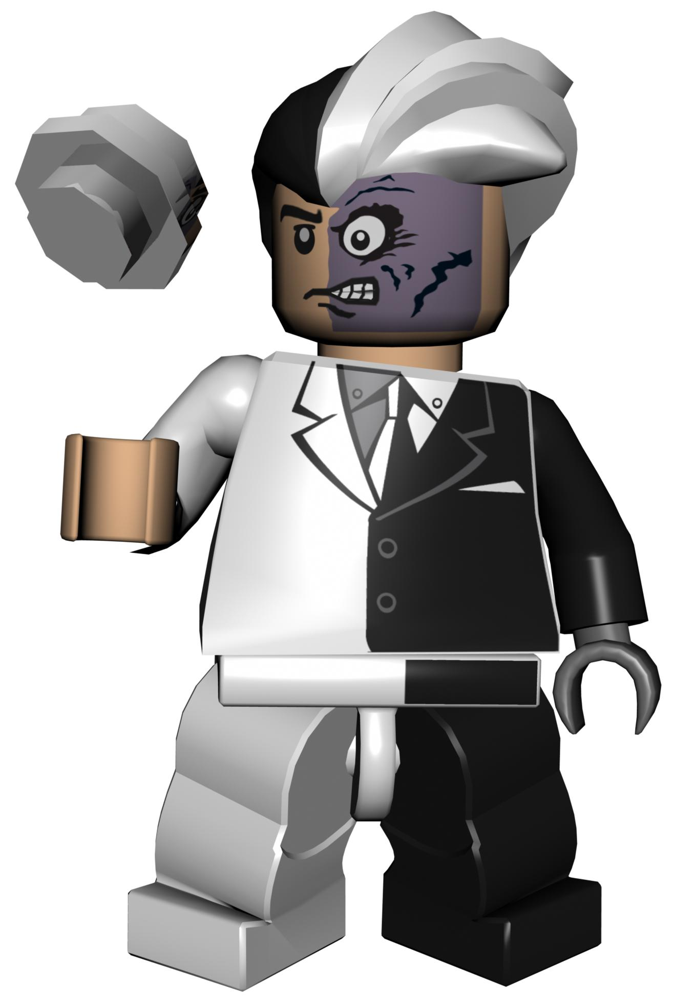 Two face lego
