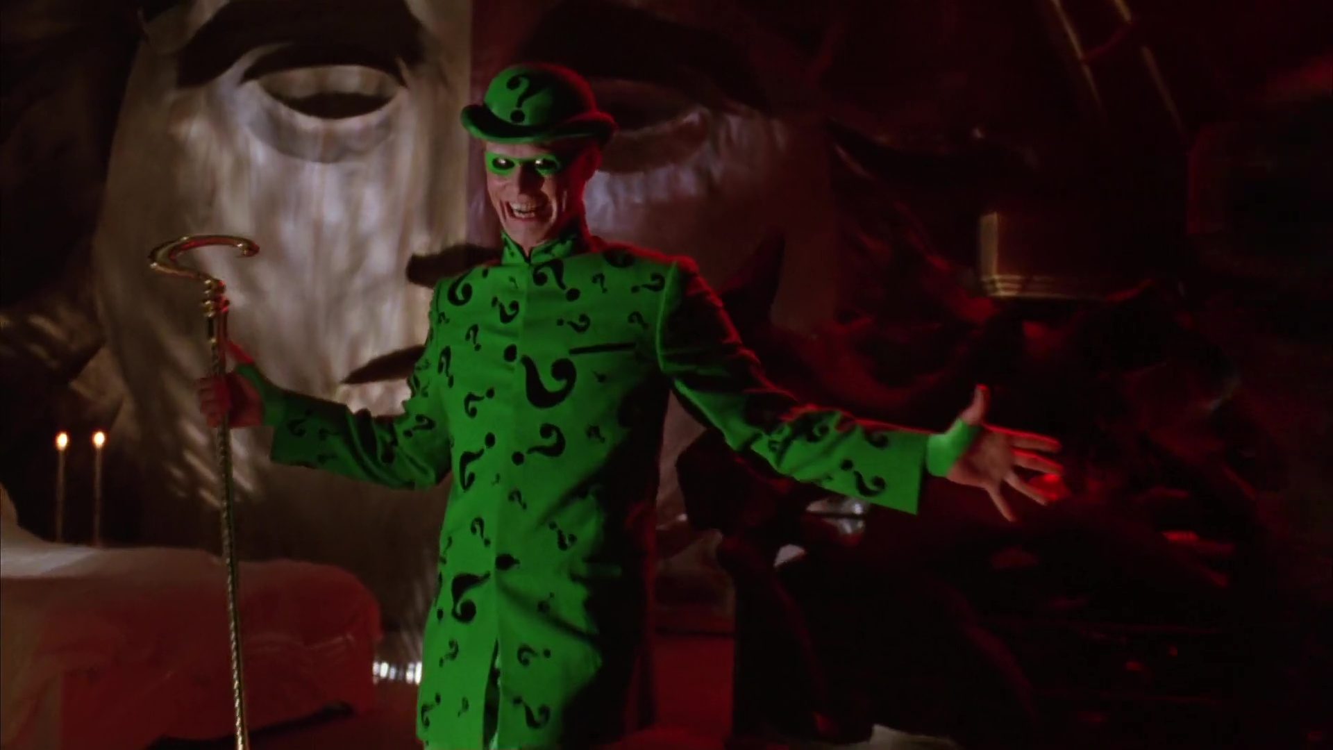 The Riddler Full Outfit