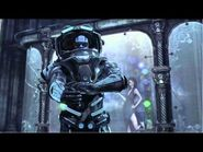 Batman Arkham City Mr Freeze wife and Child found in Mr Freeze lair