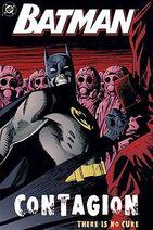 Batman Contagion TPB cover