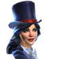 DC Legends Zatanna Mistress of Magic Portrait