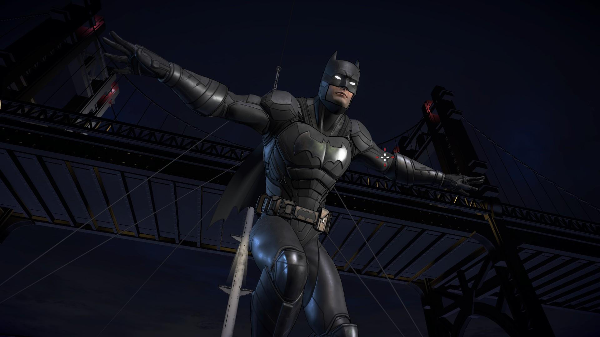 Batmans Third Official Batsuit In Action