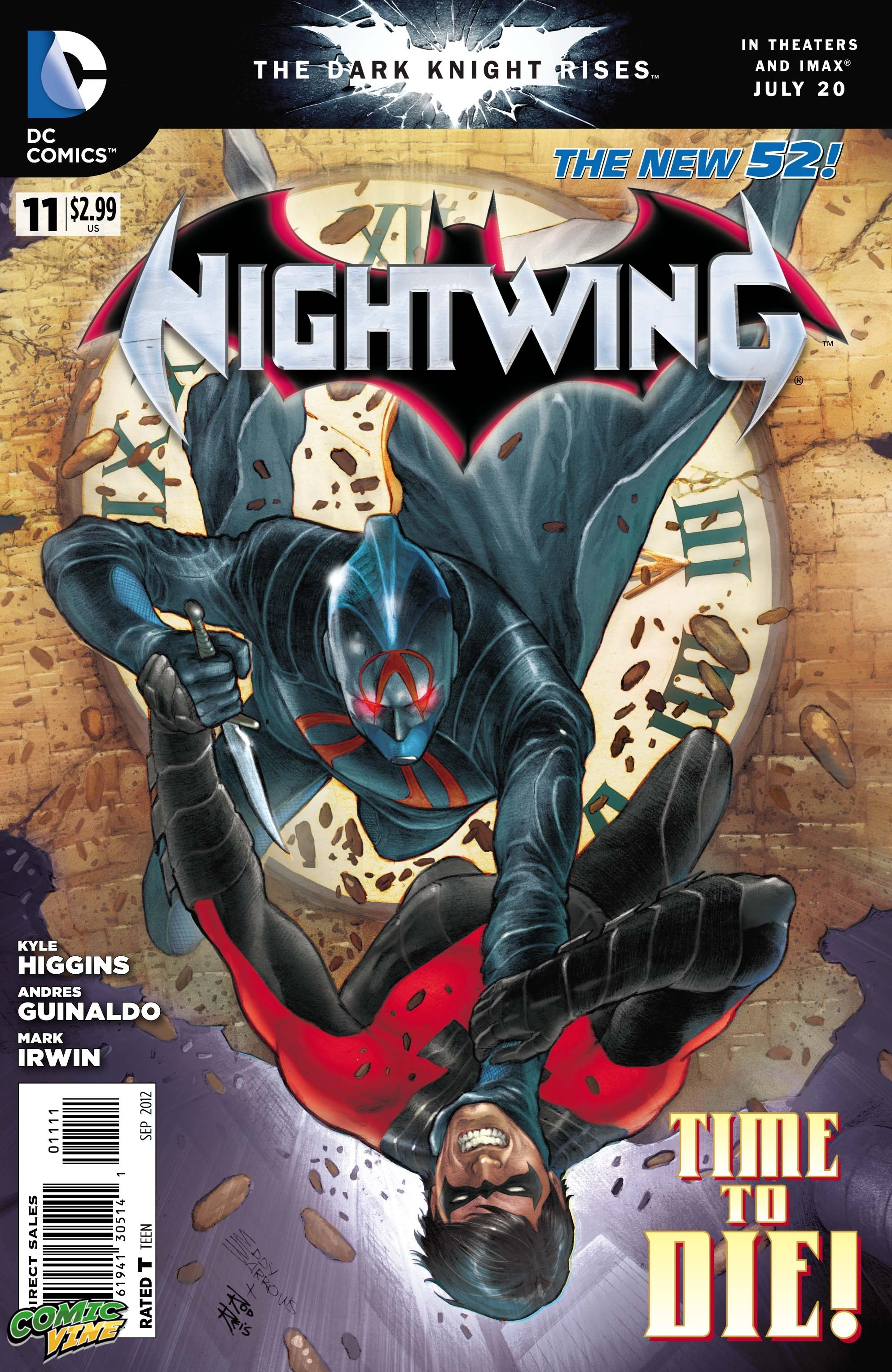 Nightwing Vol 3 11 Cover 1