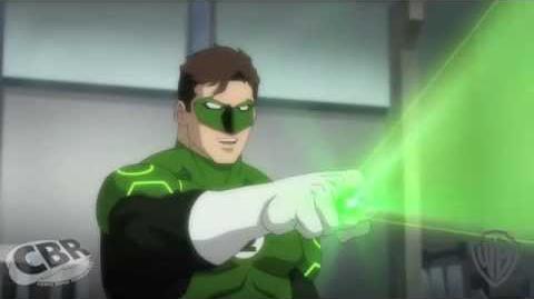 Green Lantern y Flash buscan Atlantis
