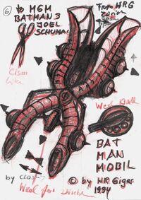 Red Giger sketch