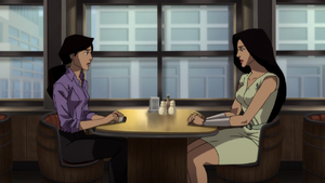 TROFS - Lois se reune con Wonder Woman