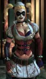 Harley Quinn Arkham Asylum