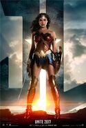 Justice League - Movie Poster (Wonder Woman)