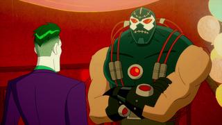 Harley Quinn - Bane le reprocha al Guasón todos su maltratos